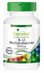 B-12 Methylcobalamin 5000µg