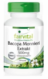 Bacopa Monnieri Extrakt 500mg