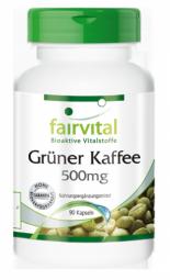 Grüner Kaffee Extrakt 500mg