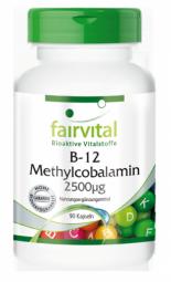 B-12 Methylcobalamin 2500µg